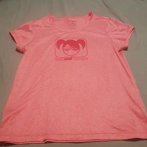 Women's LL Bean fast and female tshirt